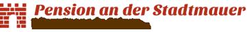 Pension an der Stadtmauer - Logo