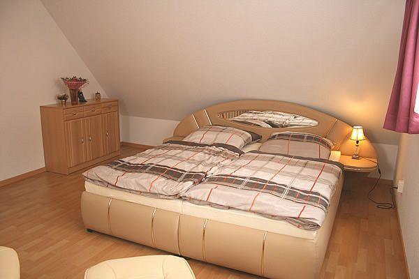 Schlafbereich im Obergeschoss