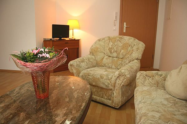 Relax-Sessel im Obergeschoss